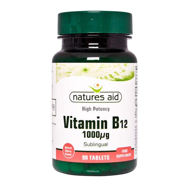 natures aid vitamín b12