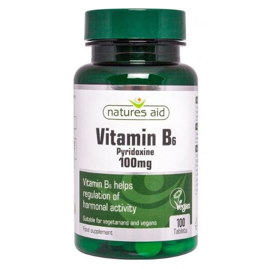 natures aid vitamín b6