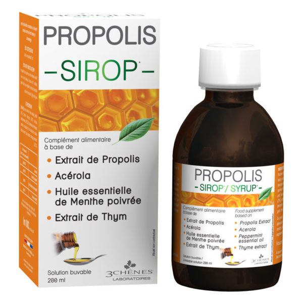 propolisovy sirup les 3 chenes
